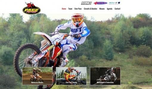 Paez Racing nieuwe website